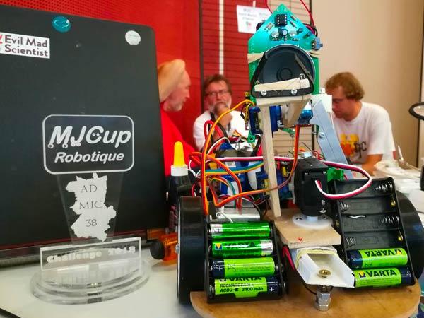 MJCup Challenge Robotique 2018